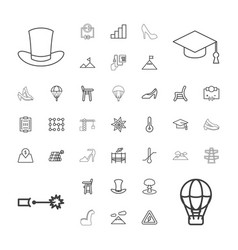 37 high icons vector