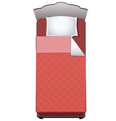 Bed single vector