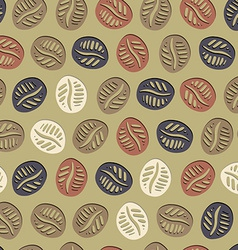 Coffee Hand Drawn Pattern vector image