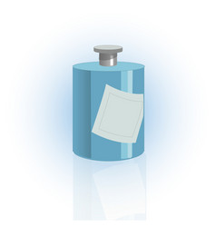 cosmetic bottle container dispenser for cream vector image