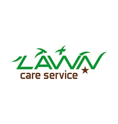 Lawn care logo vector