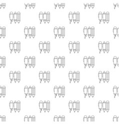 stationery pattern seamless vector image