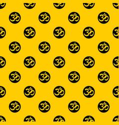 Symbol aum pattern vector