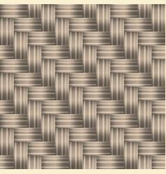 Weave basket or panel diagonal braid background vector