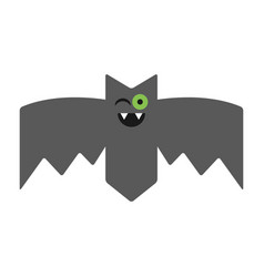 bat emotional vampire the character for vector image