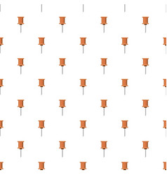push pin pattern vector image