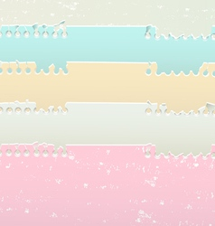 Torn notebook sheets vector image