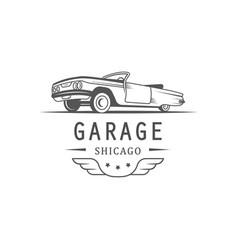 Garage logotype vector