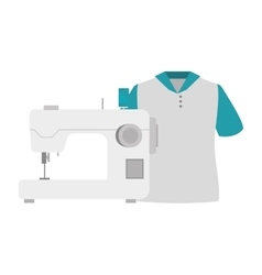 sewing machine design vector image