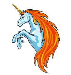 magic unicorn horse vector image