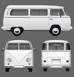 Vintage Van vector image vector image
