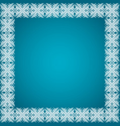 Abstract glowing frame vector