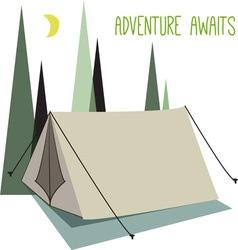 Adventure awaits vector
