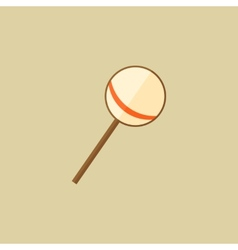 Candy Food Flat Icon vector image