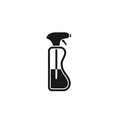 cleaning spray bottle icon cleaning spray icon vector image