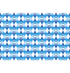 color background with blue stars for design vector image