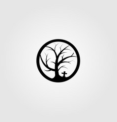 dead wood symbol logo icon design vector image