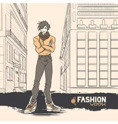 Fashion style12 vector