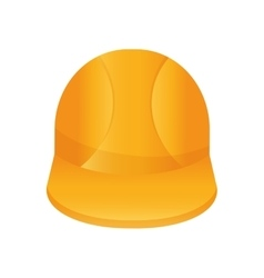 Helmet icon Under construction design vector