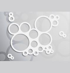 light soap bubble vector image