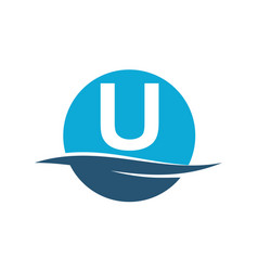 Wave water initial u vector