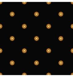 Gold circles vector