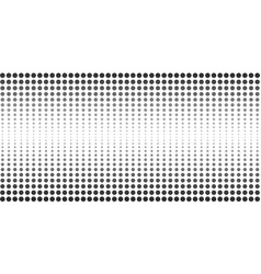 abstract halftone dotted banner vector image vector image