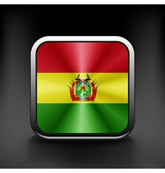 Bolivia icon flag national travel icon country vector