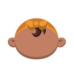 cute baby cartoon vector image vector image