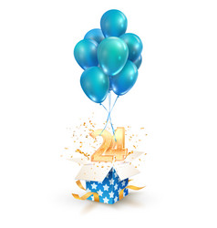 24th years celebrations greetings twenty-four vector
