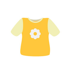 baby clothes sweater poster vector image