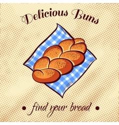 Bread On A Napkin 9 vector