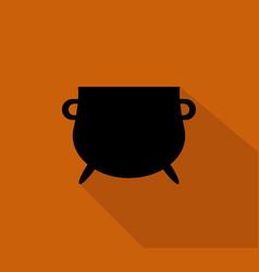 cauldron icon vector image