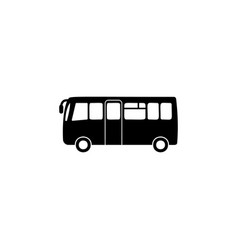 city bus icon element of car type icon premium vector image
