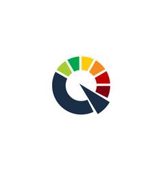 fast letter q logo icon design vector image