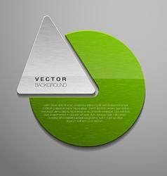green shape vector image