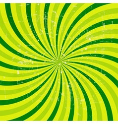 Lime abstract grunge hypnotic background vector image