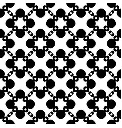 ornamental pattern floral geometric texture vector image