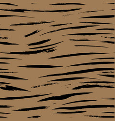 Safari pattern tiger print brown seamless vector