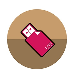 Usb Stick icon vector image