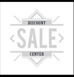 Vintage sale banner image vector