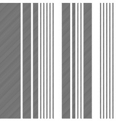 Black white abstract lines seamless pattern vector