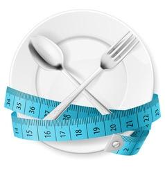 Diet concept vector