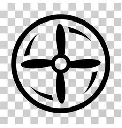 drone screw rotation icon vector image