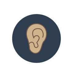 Ear vector image