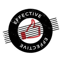 Effective rubber stamp vector