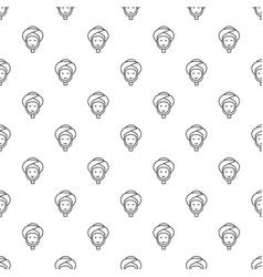 facial spa treatment pattern seamless vector image