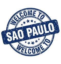 Welcome to sao paulo vector