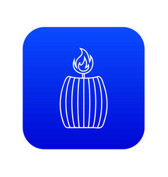 Big icon blue vector