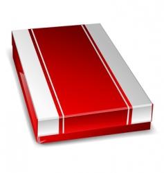 closed box vector image